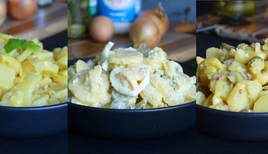 3 Delicious German Potato Salads to step up your BBQ game a notch this season
